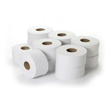 Mini Jumbo Toilet Rolls 2.25 Inch Core