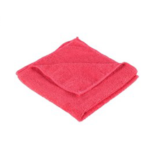 Red Microfiber Cloths s – Toilet Area ONLY