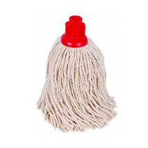 Red Socket Mop Head(14oz) Toilet Areas ONLY